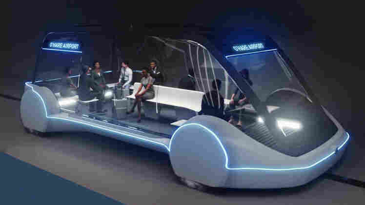 Elon Musk's Boring Company Will Build High-Speed Train To Chicago's O'Hare Airport