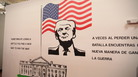 Presidential murals line the walls of Casa Padre. Along with President Trump, others depicted include Abraham Lincoln, Dwight Eisenhower and John F. Kennedy.
