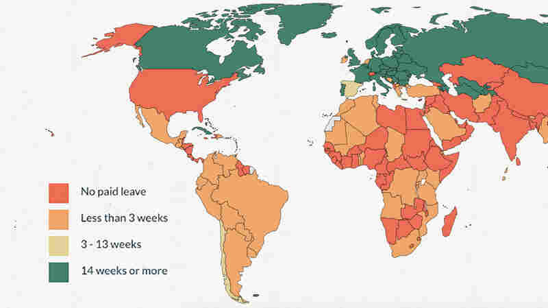 Which Countries Guarantee That New Dads Get Paid Paternity Leave?