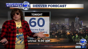 So It's Come To This: Apparently Ryan Adams Is A Weatherman Now