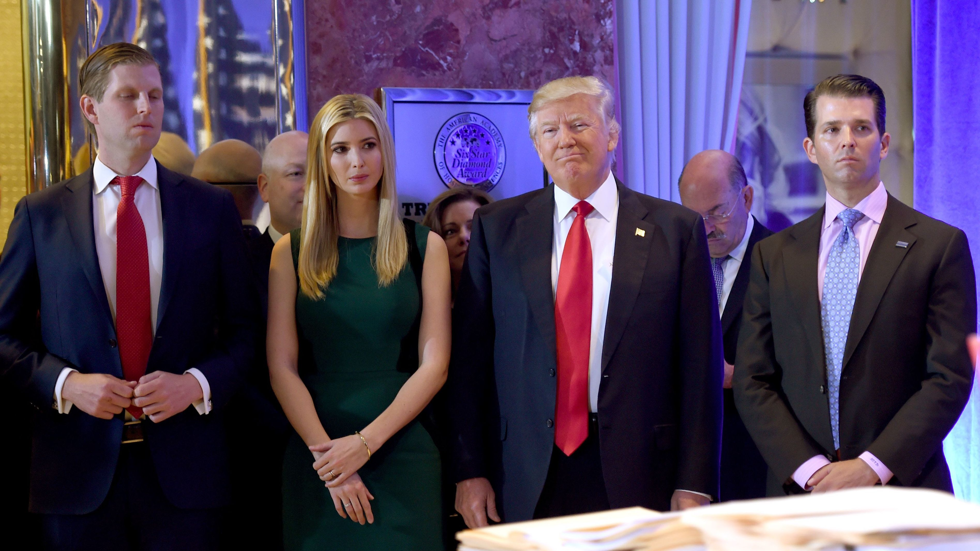 Trump, Children Accused of Breaking New York Charity Laws