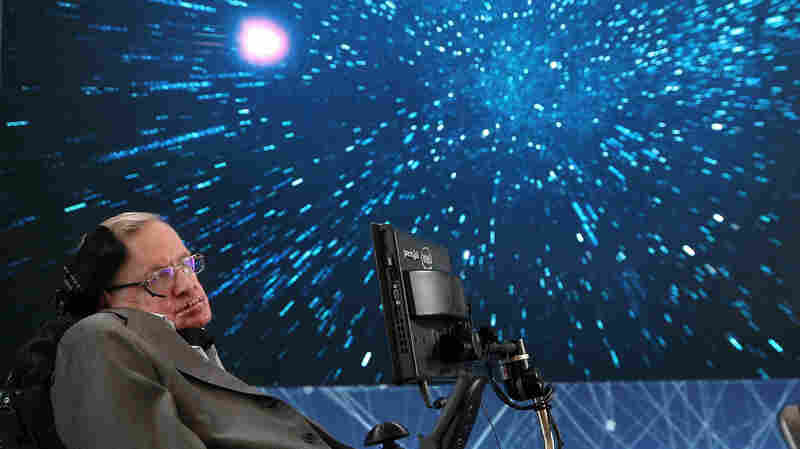 Stephen Hawking's Voice Is Being Broadcast Into Space