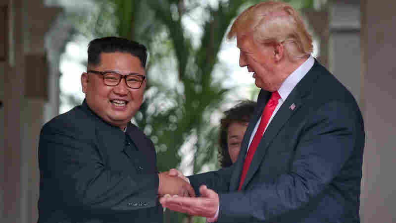 President Trump Has Some Awfully Kind Words For Kim Jong Un