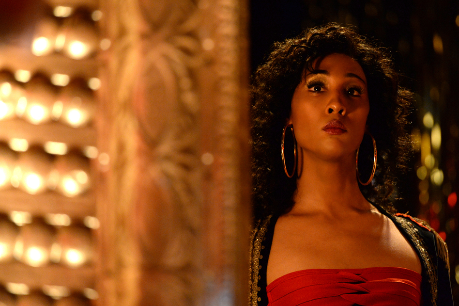 Mj Rodriguez's <em>Pose</em> character, Blanca, is an HIV-positive ball competitor who decides to leave her drag house to create a new one from scratch. (JoJo Whilden/FX)