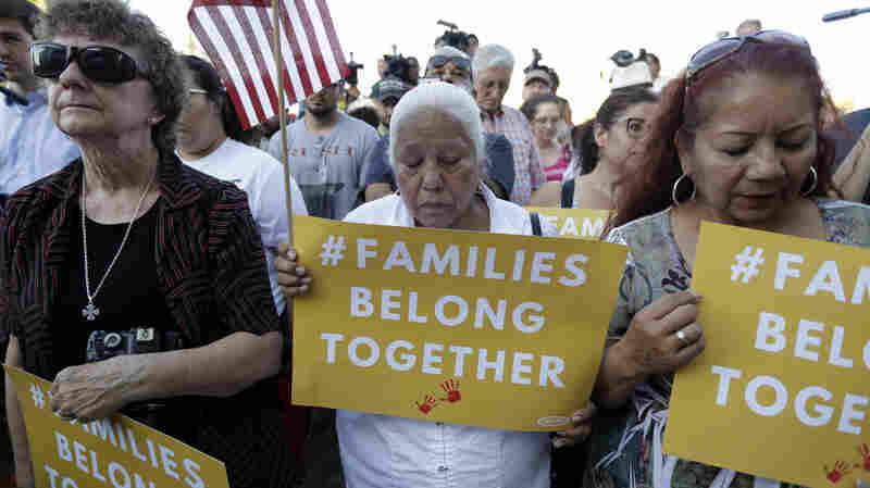 Trump's Decision To Separate Families Heats Up Immigration Debate