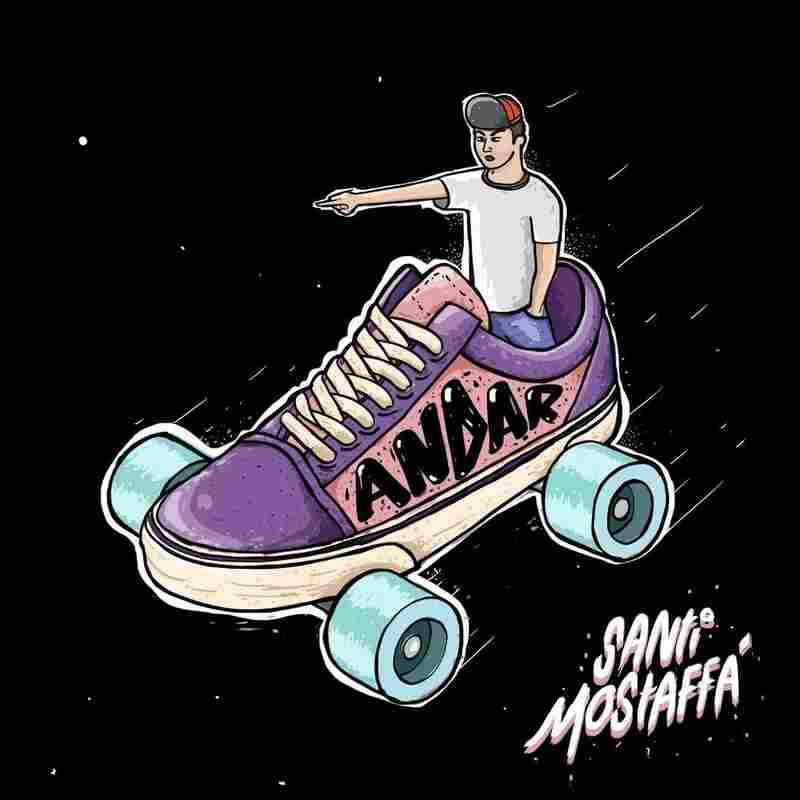 "Santi Mostaffa, ""Andar"""