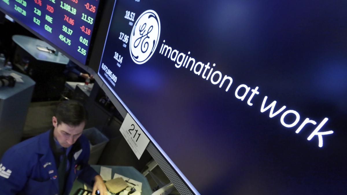 Dow Jones Industrial Average Drops General Electric Npr