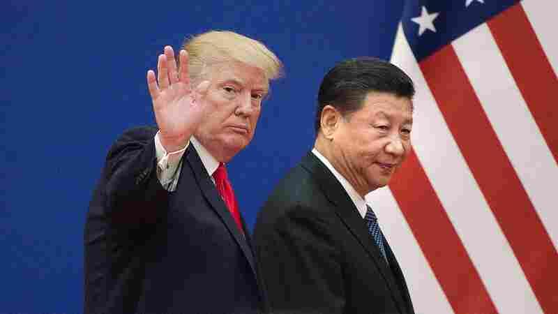 Trump Touts Economic Gains, As Trade War Looms