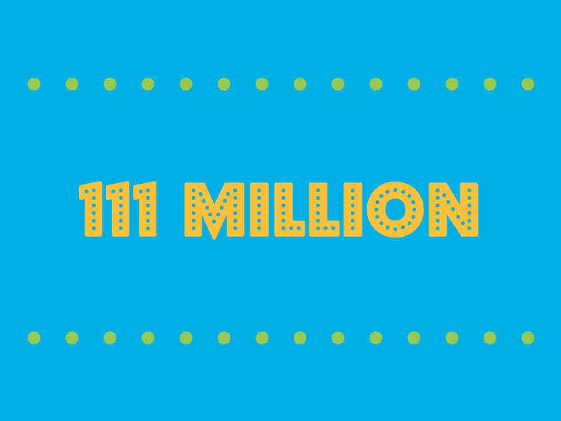 111 million