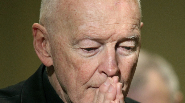 Former Washington, D.C., Archbishop Removed From Ministry Over Abuse Allegation