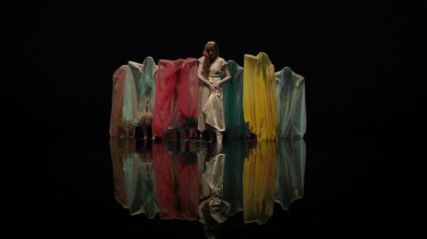 A still from Florence + The Machine