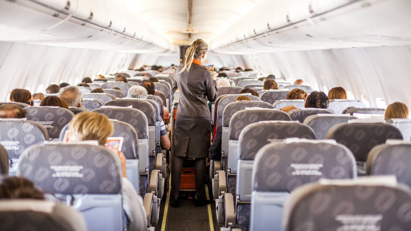 36,000 Feet In The Air, Flight Attendants And Passengers Say 'Me, Too'