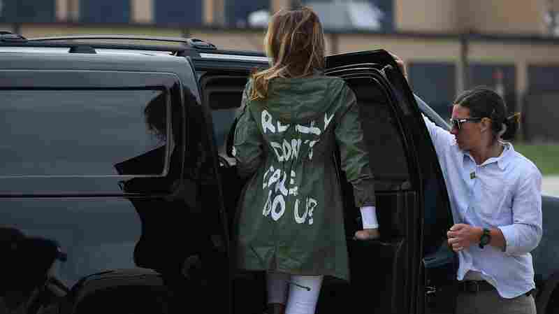 This Jacket Caused A Racket: What, Exactly, Does Melania Trump Not Care About?