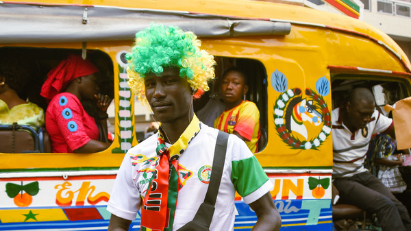 PHOTOS: World Cup Brings Sunny Vibes To The Streets Of Senegal