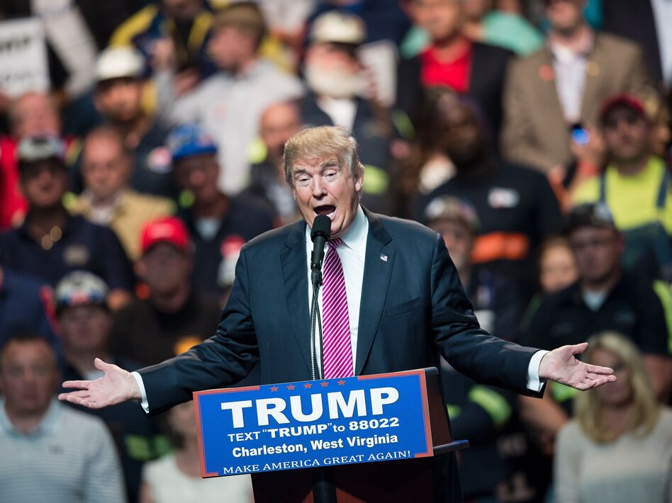 In 2016, Donald Trump captured 68 percent of the vote in West Virginia, a state hit hard by opioid overdoses. (BRENDAN SMIALOWSKI/AFP/Getty Images)