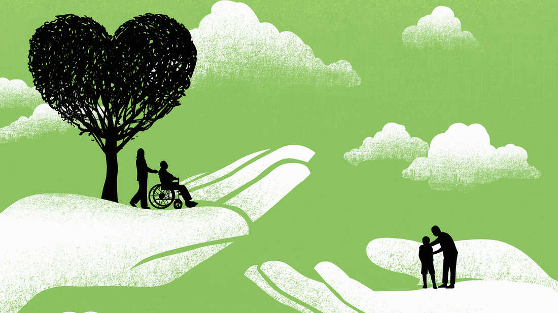 Family members caring for loved ones with Alzheimer's say they gain practical help, strength and courage from sharing stories with others who face the same struggles.
