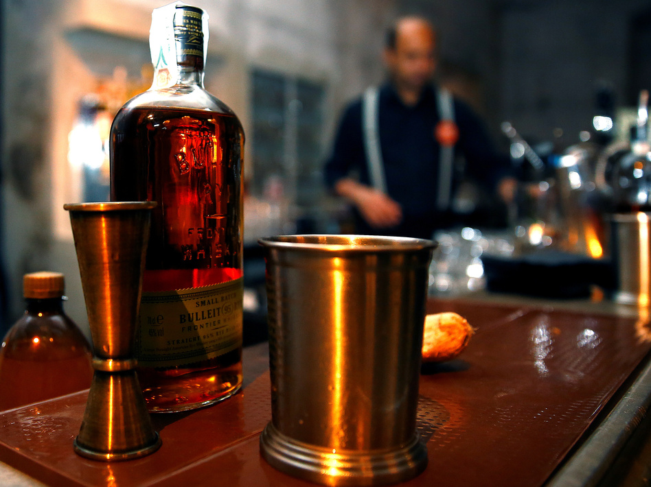 U.S.-made bourbon whiskey is now under a 25 percent tariff in the European Union, in retaliation for the Trump administration's tariffs on steel and aluminum. (Stefano Rellandini/Reuters)