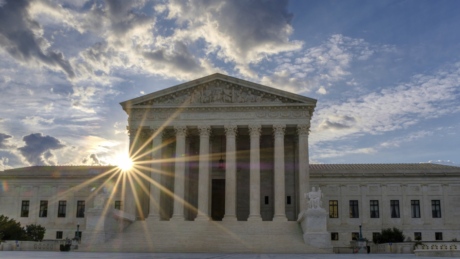 Supreme Court Says Texas Political Map Is Largely Not A Racial - Us-supreme-court-map
