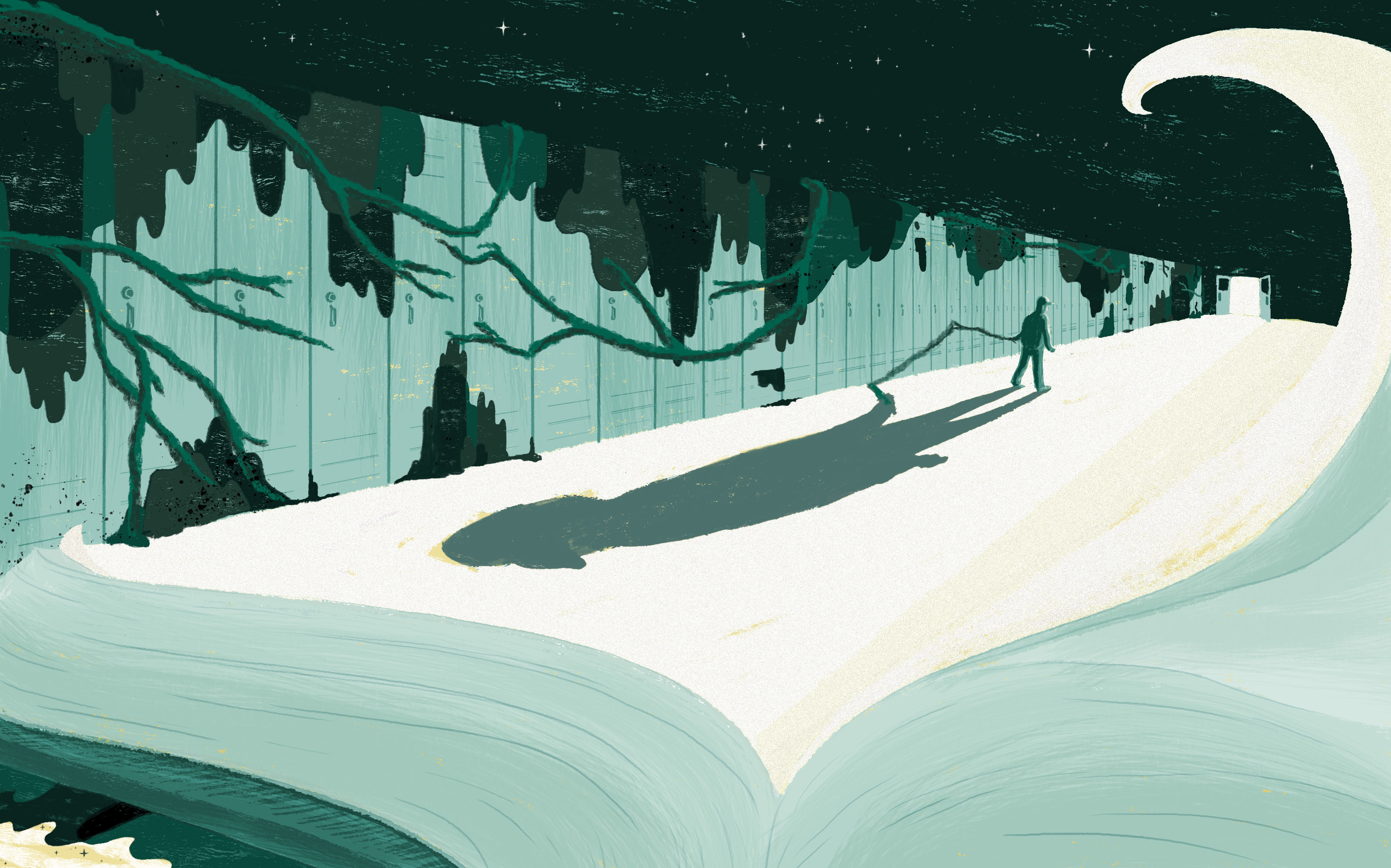 For Teens, Dystopian Fiction Seems Pretty Real — And That's Why They Like It