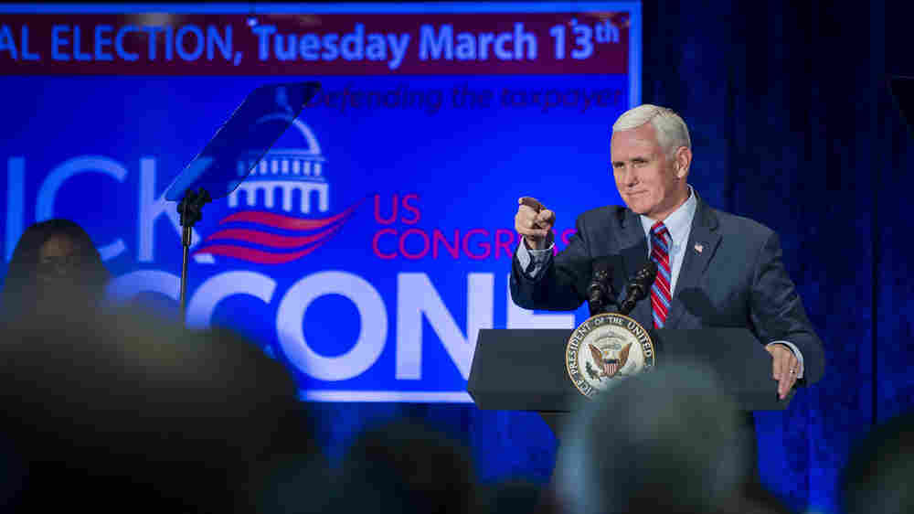 Pence's Midterm Message Shows How His Future Depends On Trump's Success