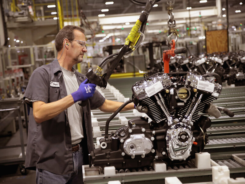 Harley-Davidson To Move More Production Oversees Amid U S