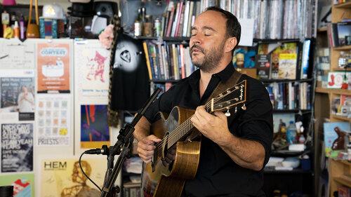 Dave Matthews Tiny Desk Concert