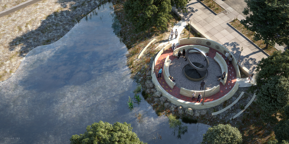 The National Museum of the American Indian announced its winning design for the National Native American Veterans Memorial. (National Museum of the American Indian)