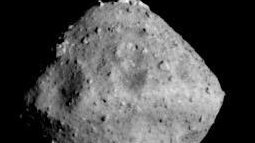 Asteroid Ryugu, photographed on June 26 by the Hayabusa2 spacecraft, was the Japanese mission