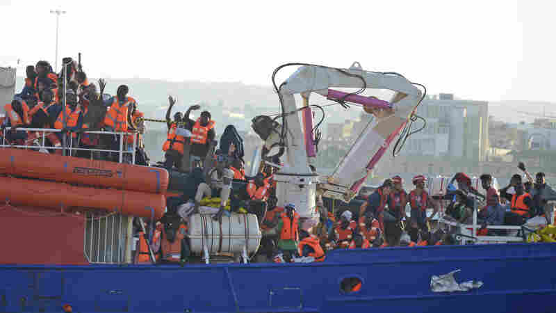 Ship Carrying More Than 200 Migrants Allowed To Dock In Malta