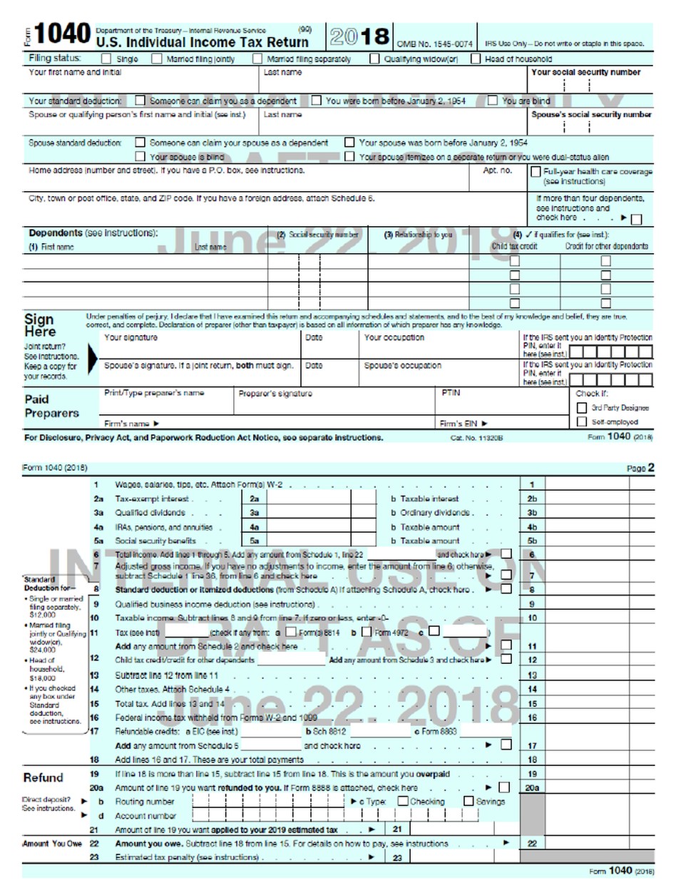 Trump\'s New IRS \'Postcard\' Is Not So Simple And Not Really A ...