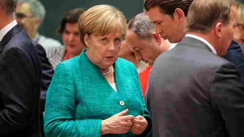 Merkel's Fragile Coalition Teeters On Edge Of Migration Question