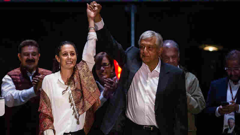 In Mexico's Elections, Women Are Running In Unprecedented Numbers