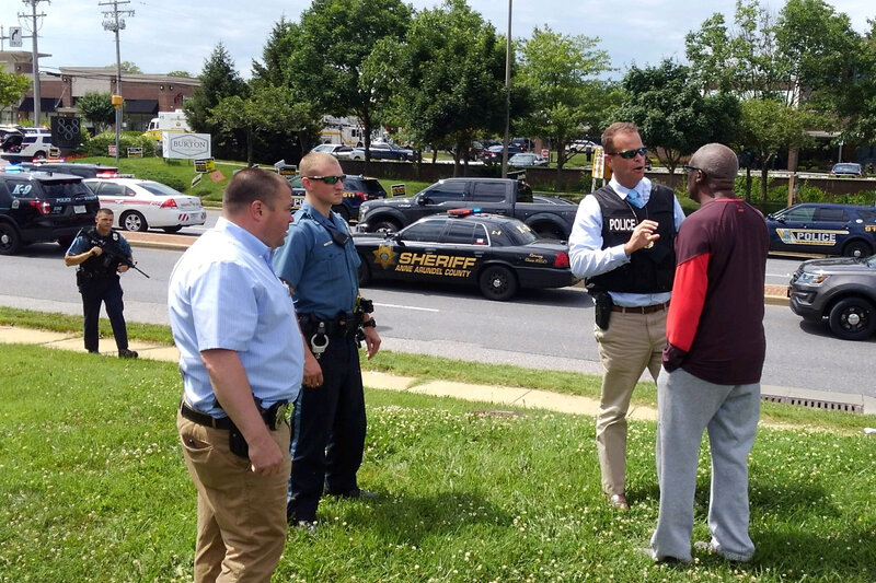 Capital Gazette Newsroom Shooting That Left 5 Dead Was 'Targeted