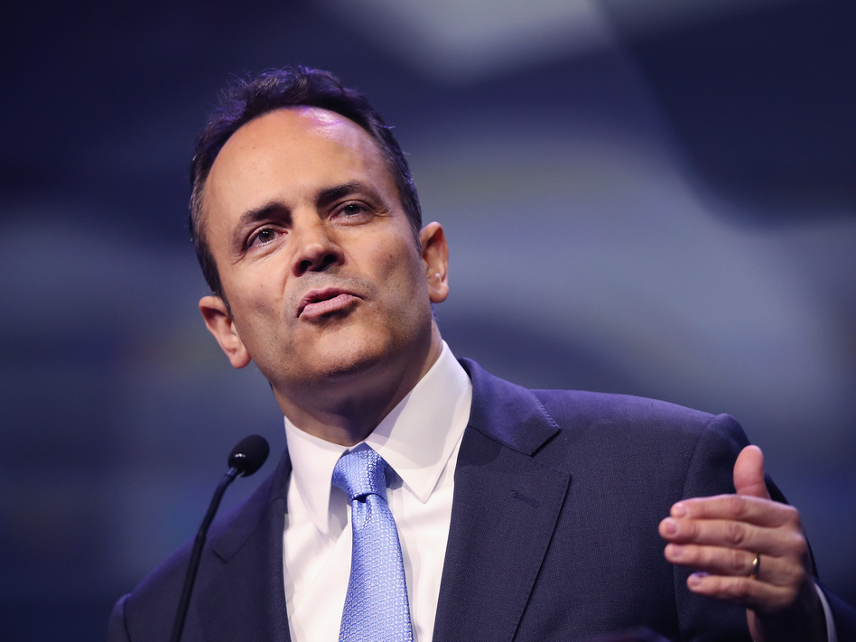 Kentucky Gov. Matt Bevin is trying to add work requirements to the state's Medicaid program. A judge has blocked that request. (Scott Olson/Getty Images)