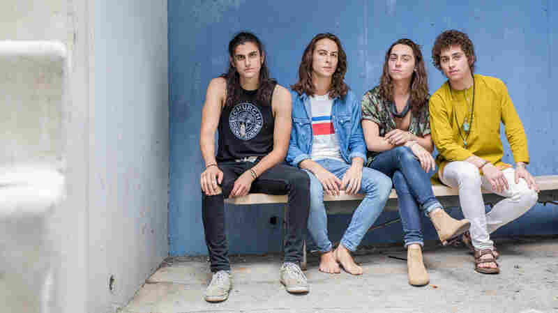 Watch Greta Van Fleet Perform 'Safari Song' Live In The Studio