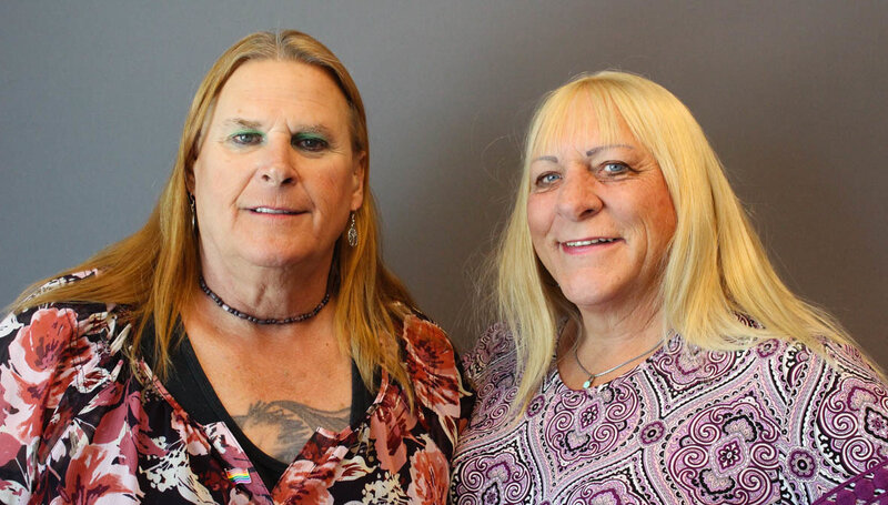 2 transgender veterans find courage and sisterhood off the