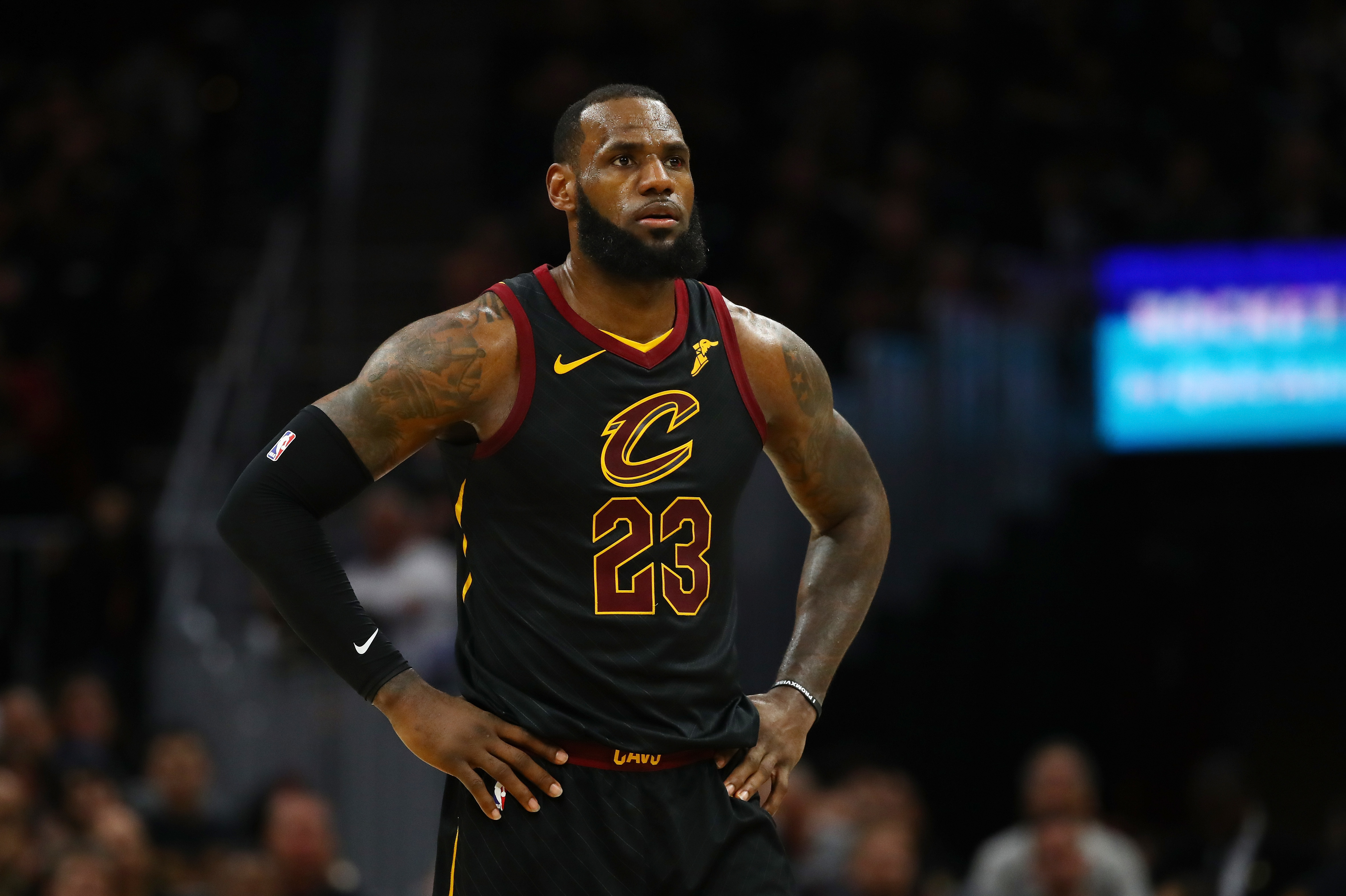 23aef12ba838 LeBron James To Leave Cleveland For The Los Angeles Lakers