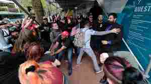 Police Declare A Riot After Far-Right And Antifa Groups Clash In Portland, Ore.