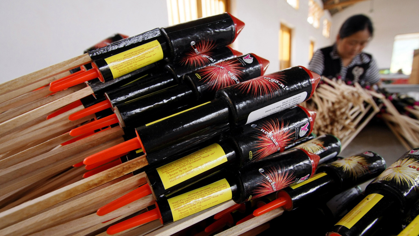 Fourth Of July Fireworks Come From China — Dwarfing Exports