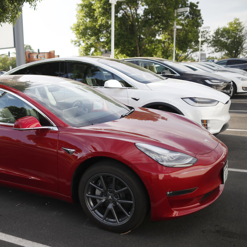 8 Years After Going Public, Elon Musk Wants To Take Tesla Private : NPR