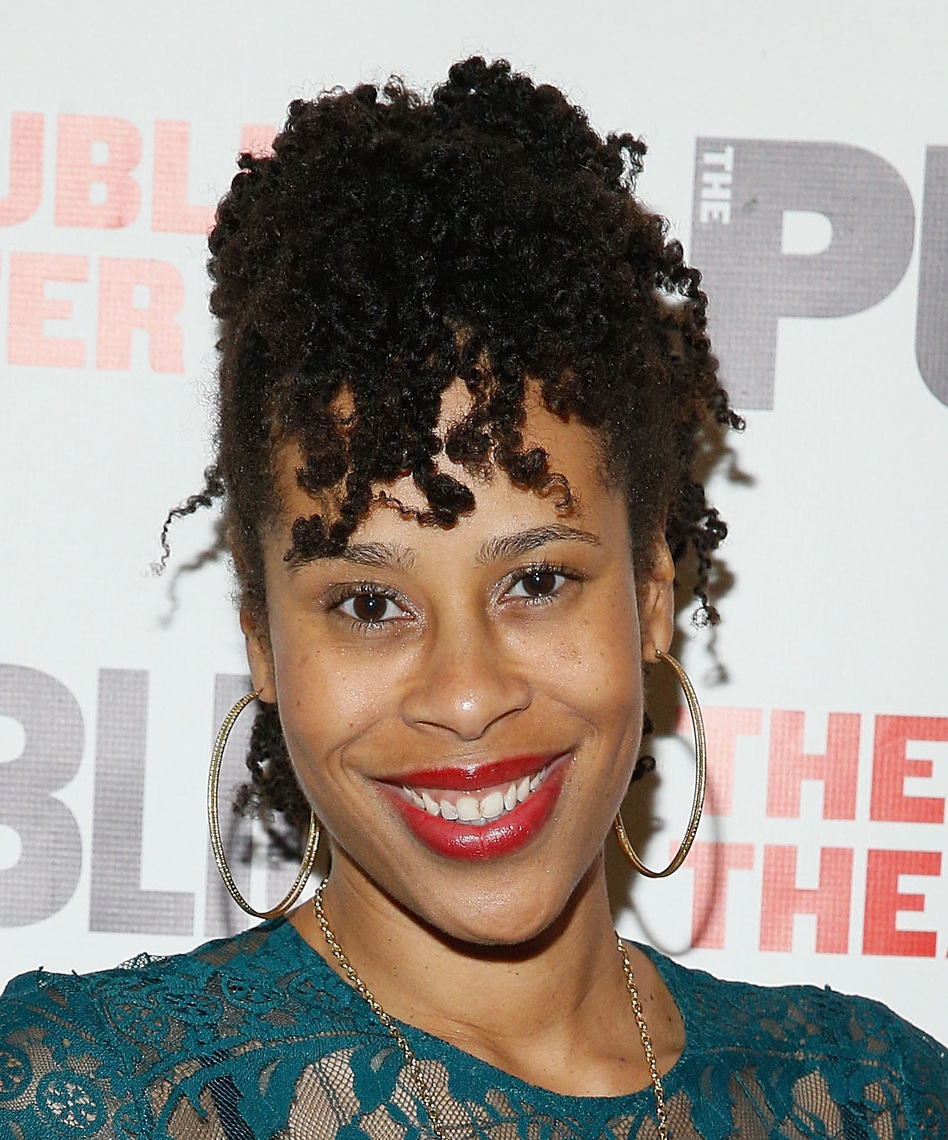 Award-winning playwright Dominique Morisseau authored the book for The Temptations musical, <em>Ain't Too Proud</em>, that tells the origin story of the iconic quintet discovered in her hometown of Detroit. (John Lamparski/Getty Images)