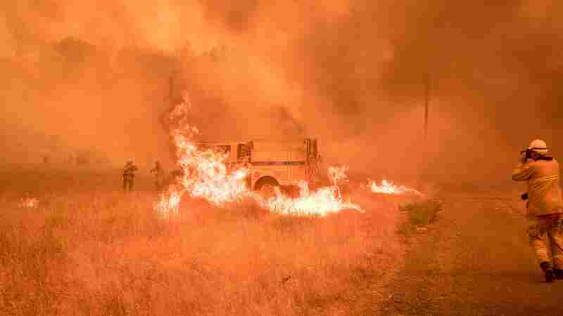 Wildfires Spread In Northern California