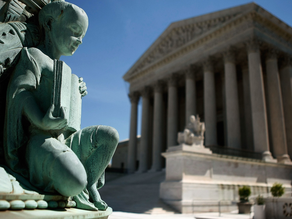 Activists are launching their campaigns now to try to influence the choice of the next Supreme Court justice. Supporters of President Trump are expected to spend millions of dollars. (Mark Wilson/Getty Images)