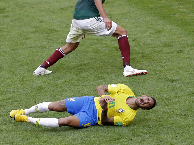 World Cup 2018 Brazilian Footballer Neymar Is On A Roll Npr