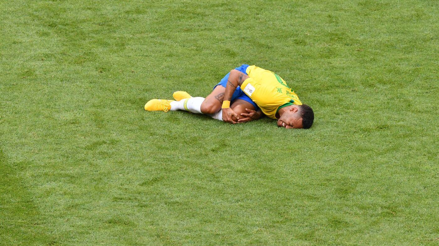 World Cup 2018: Brazilian Footballer Neymar Is On A Roll : NPR