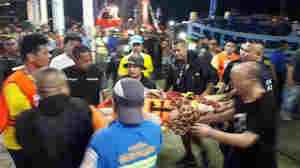 At Least 27 Dead After Tourist Boat Overturns Off Thailand