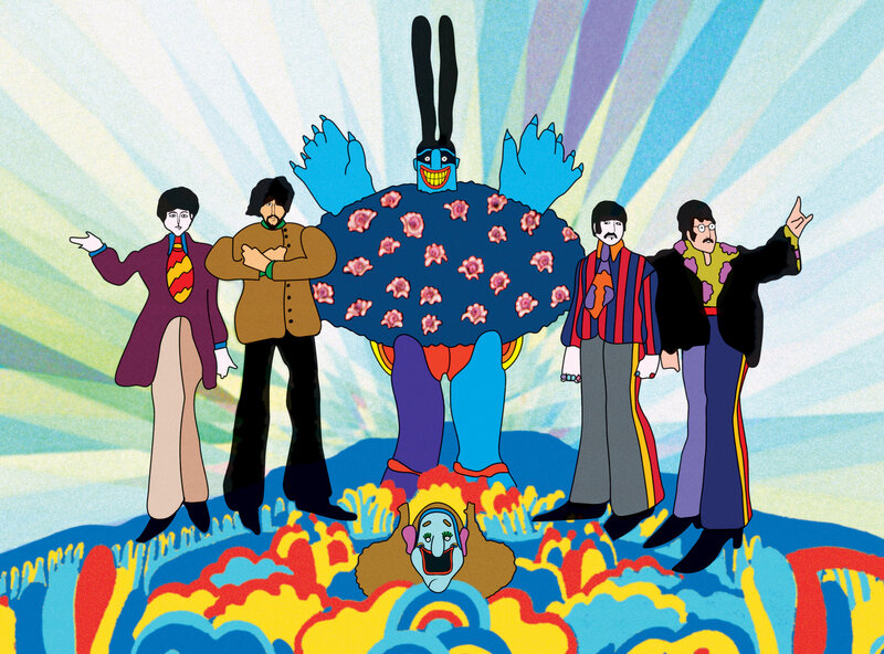 Beatles Film Yellow Submarine Touched Music Fashion And