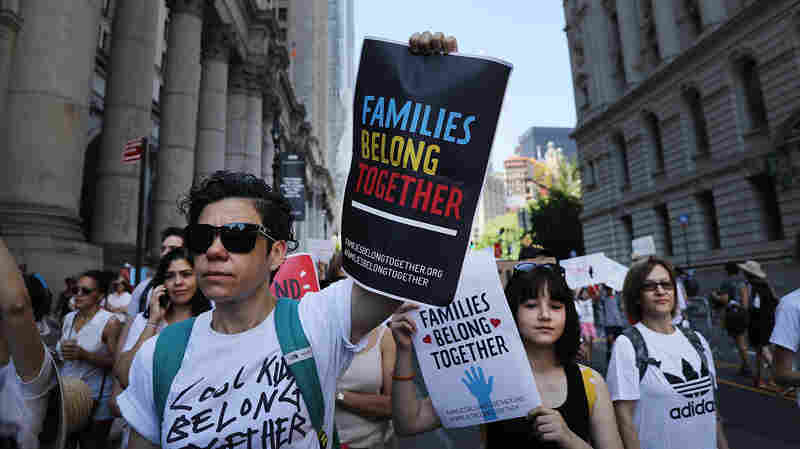 Trump Administration Will Miss Deadline To Reunite Migrant Kids Under 5 With Parents