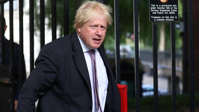 Boris Johnson Resigns From U K 's Foreign Secretary Post