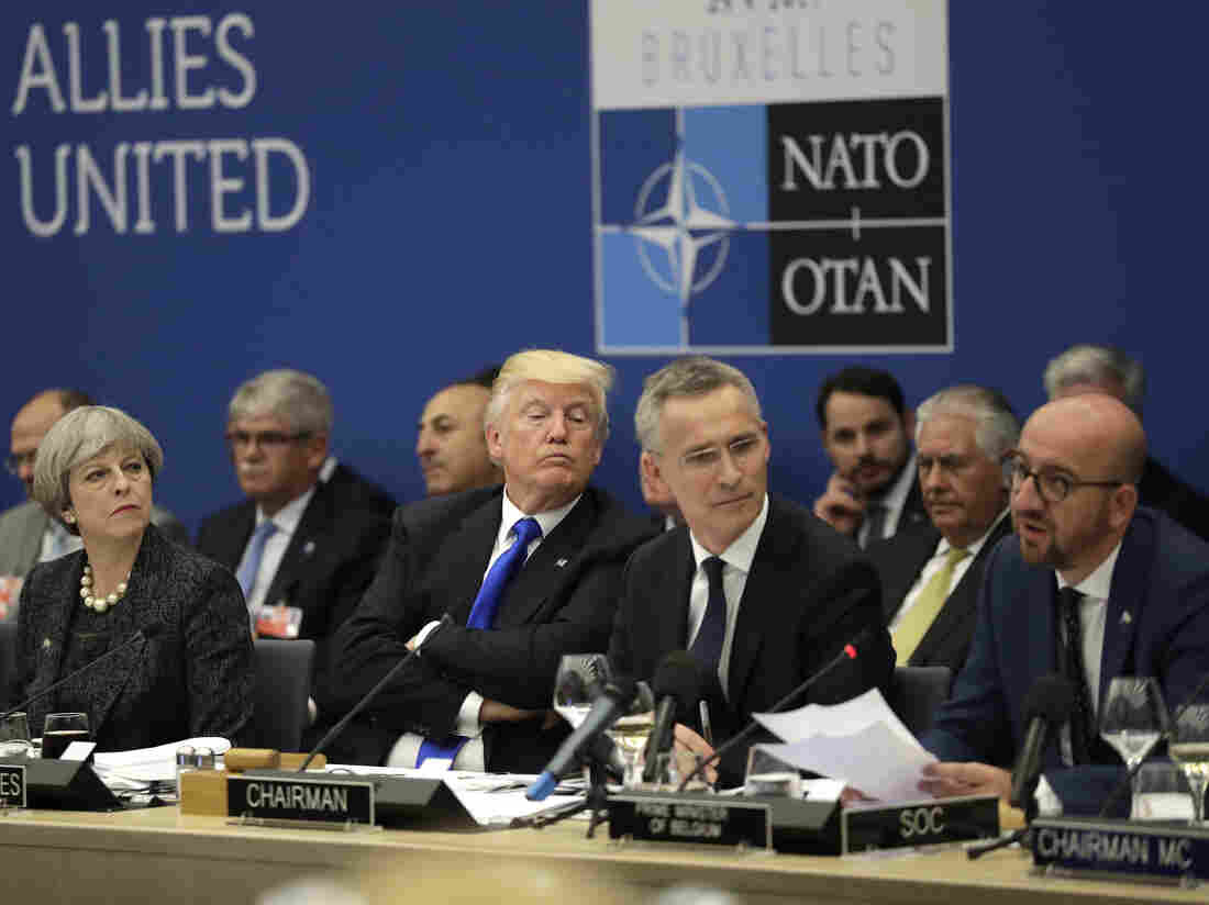 Donald Trump pushes North Atlantic Treaty Organisation  allies to double their defence spending